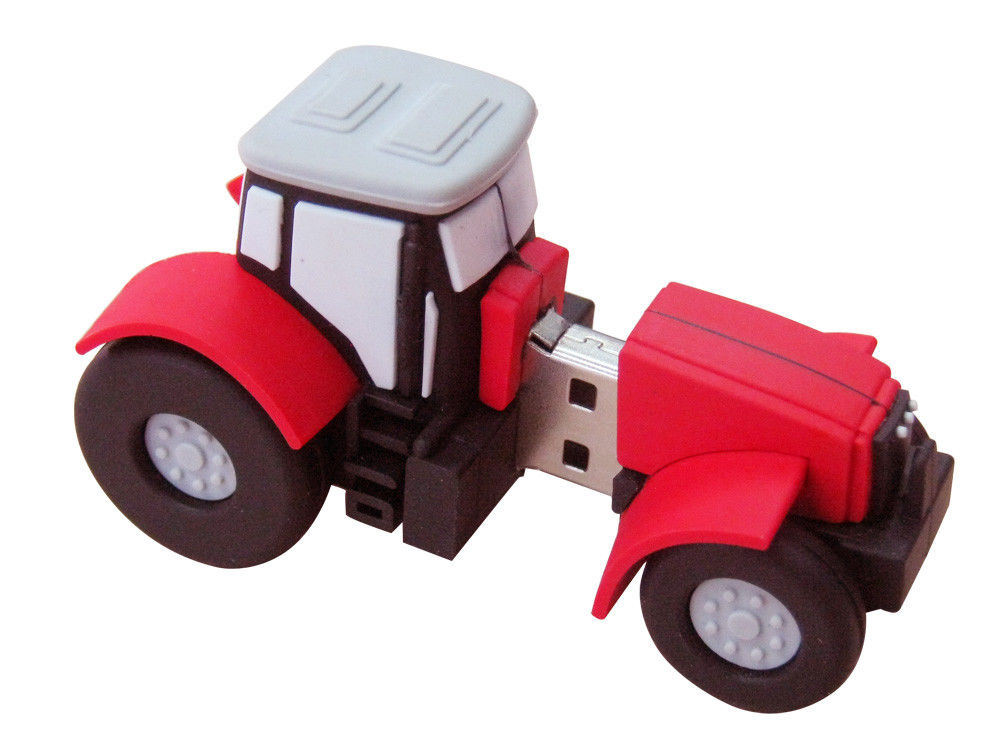 64MB - 64G PVC Custom USB Memory Stick Password Protect Car Shaped