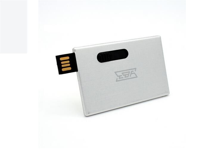 Compatibility Top Grade 5*9cm Credit Card USB Drive 2gb plug and play