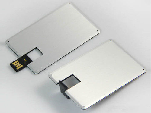 Large area Custom-made Full Color Metal Credit Card USB Flasth Drive